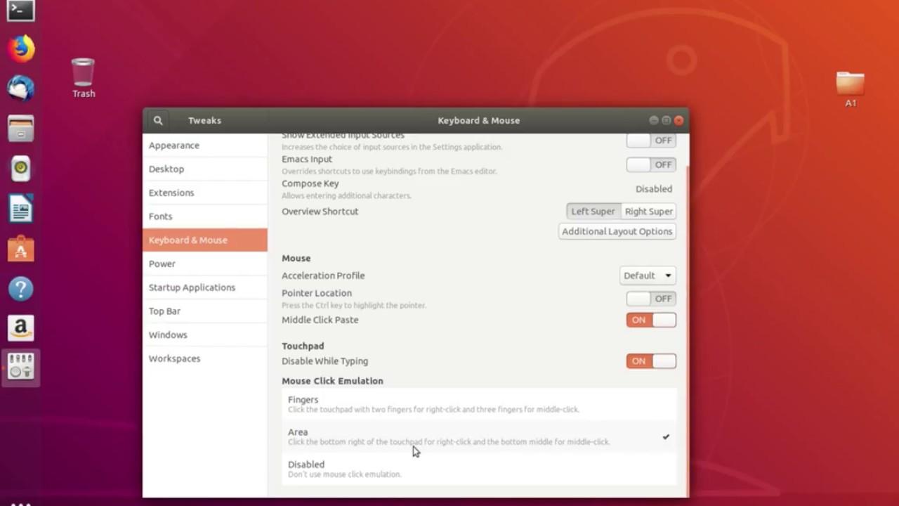cannot right click on desktop ubuntu
