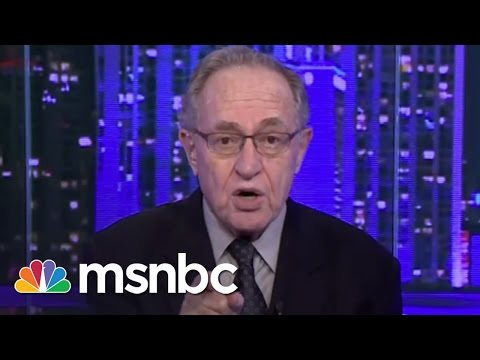 Alan Dershowitz On Allegations: 'Totally False' | msnbc