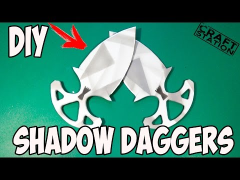 How To Make Shadow Daggers From CS:GO With Templates