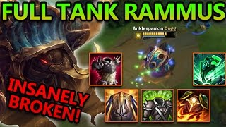 RAMMUS TOP IS INSANELY BROKEN - League of Legends Commentary