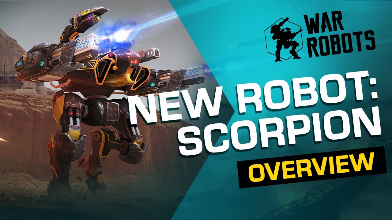 🦂 War Robots: SCORPION | NEW ROBOT Overview