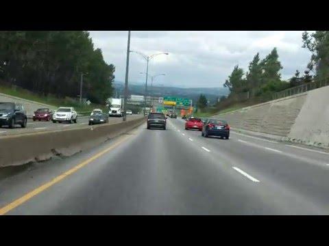 Henri IV Expressway (Autoroute 73 Exits 132 to 139) northbound
