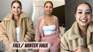 FALL/WINTER Try on clothing haul 2018! Babyboo, Supre, White Fox Boutique, & more!