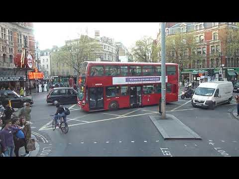 Trafalgar Sq to Shaftesbury Avenue 08 04 2014