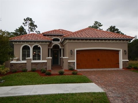 Ormond Beach, Florida New Home Model For Sale Vanacore Homes in Villaggio Subdivision