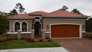 Ormond Beach, Florida New Home Model For Sale Vanacore Homes in Villaggio Subdivision