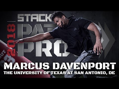 How Marcus Davenport Put on 60 Pounds of Muscle and Became an Elite Defensive End