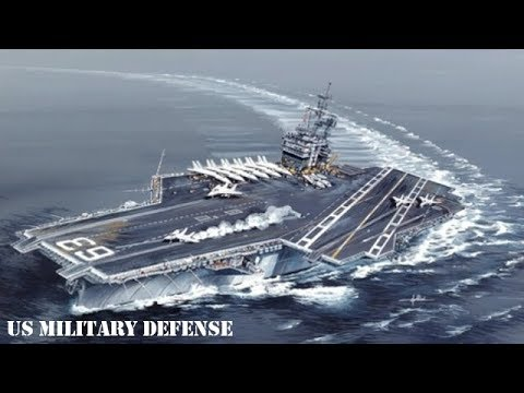 U.S. Navy Aircraft Carrier USS Kitty Hawk (CV-63) - SUPER Aircraft Carrier