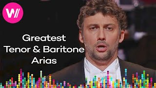 The 10 Most Popular Tenor & Baritone Arias - by Pavarotti, Rolando Villazón, Jonas Kaufmann