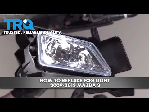 How to Replace Fog Light 2009-13 Mazda 3