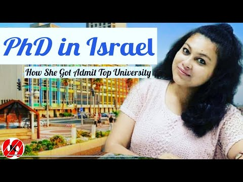 PhD In Chemistry \u0026 Biology At Israel : Weizmann Research Institute: How To Get PhD In Israel