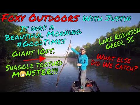 Beautiful Morning - Fishing Lake Robinson