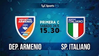Deportivo Armenio vs Sportivo Italiano full match