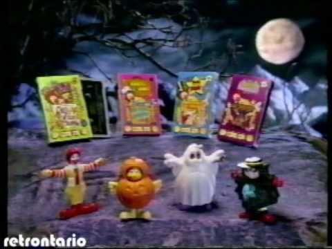 McDonalds Halloween 1995