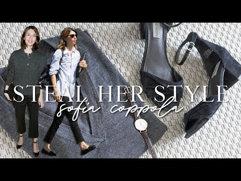 Steal her style: Sofia Coppola!