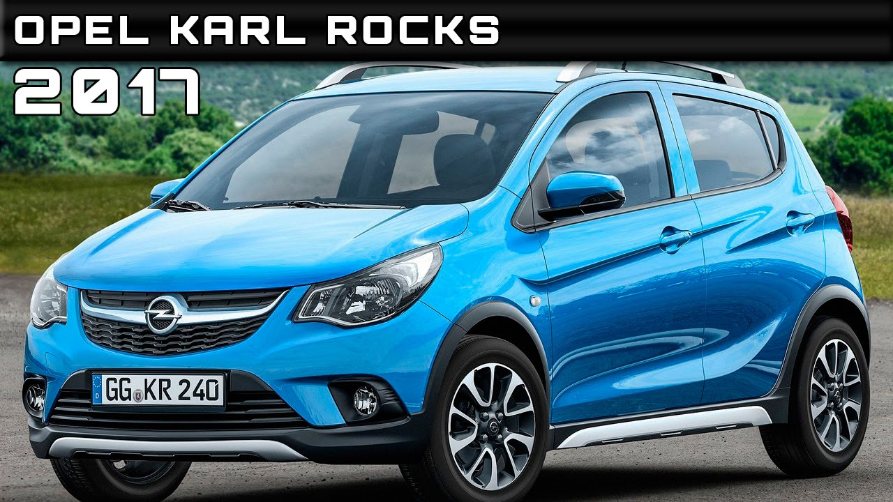 2017 opel karl rocks review rendered price specs release date youtube. Black Bedroom Furniture Sets. Home Design Ideas