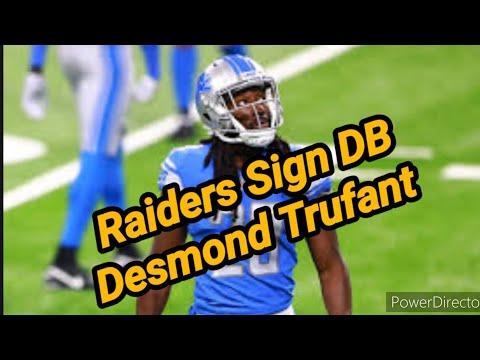 Las Vegas Raiders: Former Pro Bowl DB Desmond Trufant Signs With Raiders By Joseph Armendariz