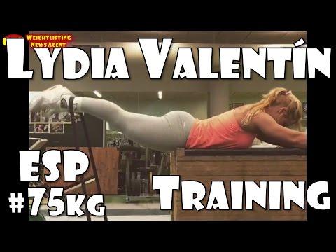 Lydia Valentín (ESP, 75KG)   Olympic Weightlifting Training   Motivation