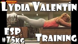 Lydia Valentín (ESP, 75KG) | Olympic Weightlifting Training | Motivation