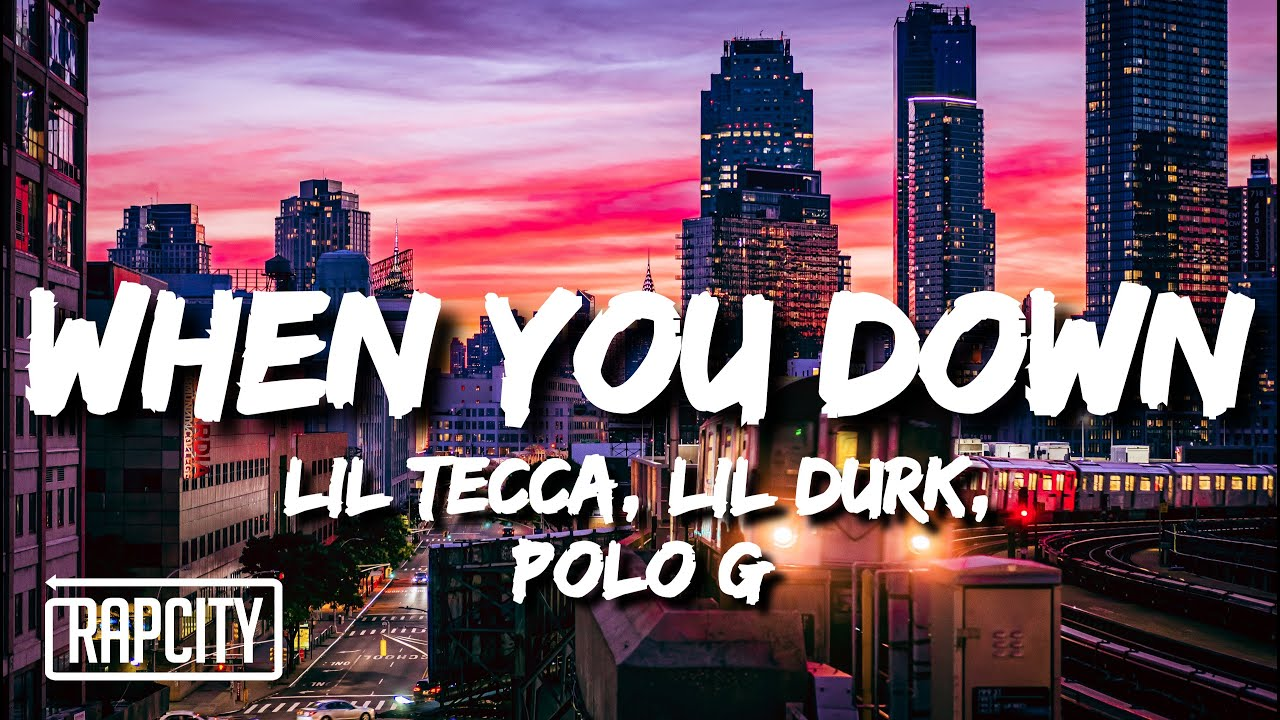 Lil Tecca - When You Down (Lyrics) ft. Lil Durk & Polo G