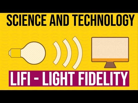 Science&Tech #1 : LiFi Technology - EveryThing You Need To Know