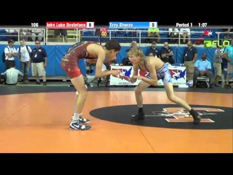 Cadet 106 - John Luke Destefano (New York) vs. Trey Shores (Oregon)