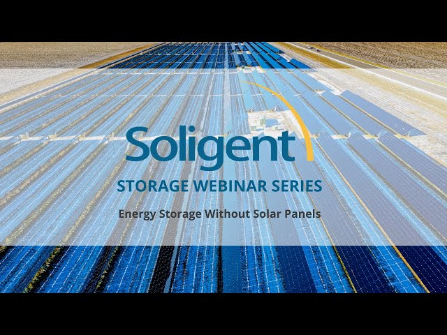 Energy Storage Without Solar Panels | Soligent Energy Storage Series
