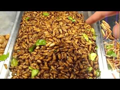 night-food-market-in-thailand-selling-edible-bugs.-eating-insects-in-krabi-thailand.-bizarre-foods!