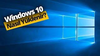 Adım adım USB'den Windows 10 Kurulum Rehberi!