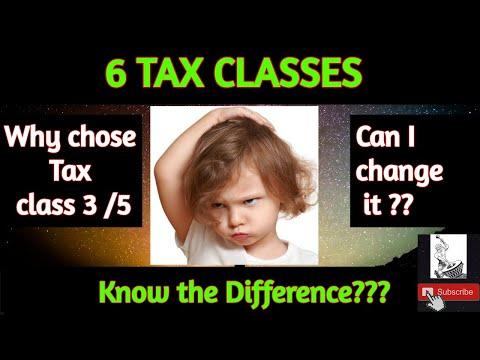 tax-classes-in-germany-(steuerklassen)- #paraiadi-#steuertips-#steuerklasse