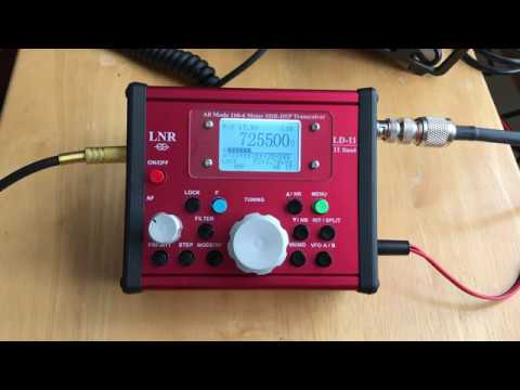 LNR LD-11 QRP QSO with Bioenno and dipole