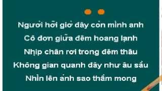 Dem Lanh Karaoke - Lam Trường - CaoCuongPro