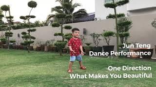 Jun Teng Dance Performance - One Direction-What Makes You Beautiful