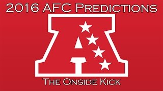 2016 AFC Predictions