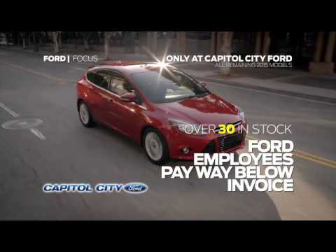 Cap City Ford March Employee Prices Sale YouTube - Ford employee pricing vs invoice