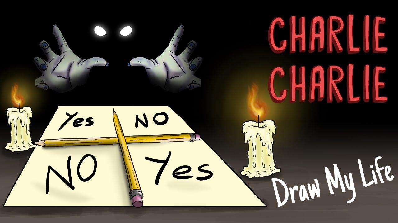 CHARLIE CHARLIE CHALLENGE | Draw My Life