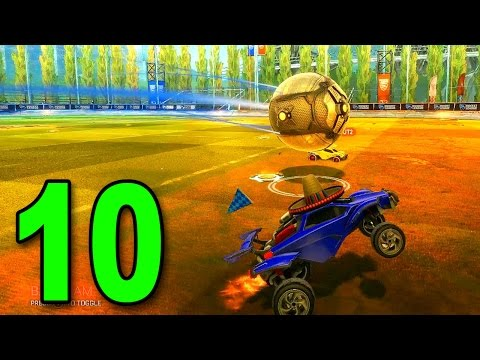 ROCKET LEAGUE - Part 10 - Overtime Intensity! (Let's Play /  Multiplayer Gameplay)