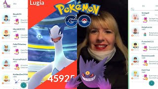 Lugia Raid Party + Shiny Erfolg I Pokémon GO deutsch Berlin #546