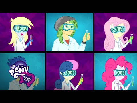 MLP: Equestria Girls Friendship Games - 'Acadeca' Sing-Along