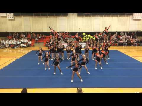 WGHS Cheer Pep Rally 2015