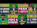 SE LAVÓ LAS MANOS! DIEGO ARCOS TRAICIONÓ A BYRON CASTILLO | GALÍNDEZ PIDIÓ PERDON A TODO ECUADOR