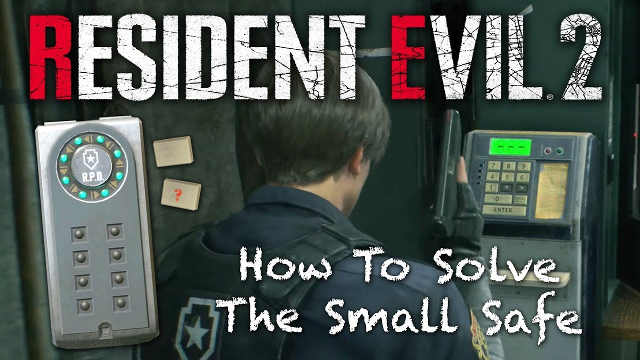 Resident Evil 2 Remake | How To Open The Portable Safe EASY | Re2 Remake  Walkthrough