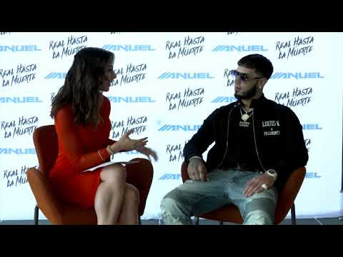 Entrevista de Anuel AA en Primer Impacto.