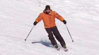 Урок 15 - Повороты на горных лыжах контролируют скорость
