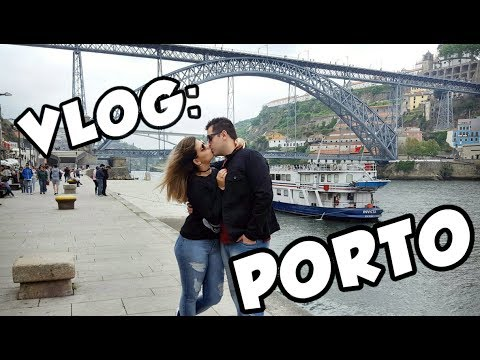 VLOG - EUROTRIP   Conhecendo o Porto