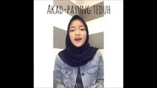 Nissa Sabyan Akad Payung teduh cover Music Reuploaders