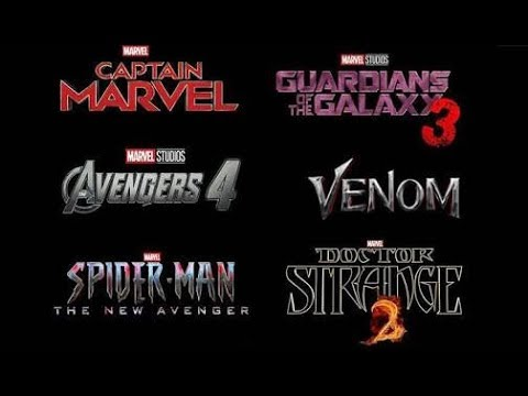 Upcoming Marvel Movies have a look!!