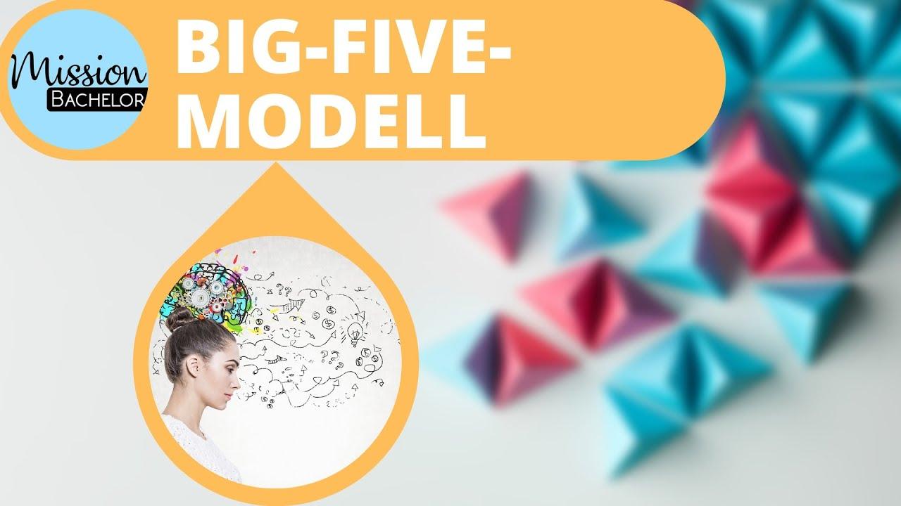 Big Five Modell - Persönlichkeitsfaktoren einfach erklärt