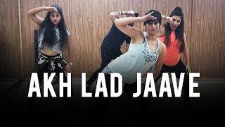 Akh Lad Jaave (Loveyatri)   Dance Fitness Choreo by Vijaya Tupurani   Asees Kaur, Badshah, Jubin