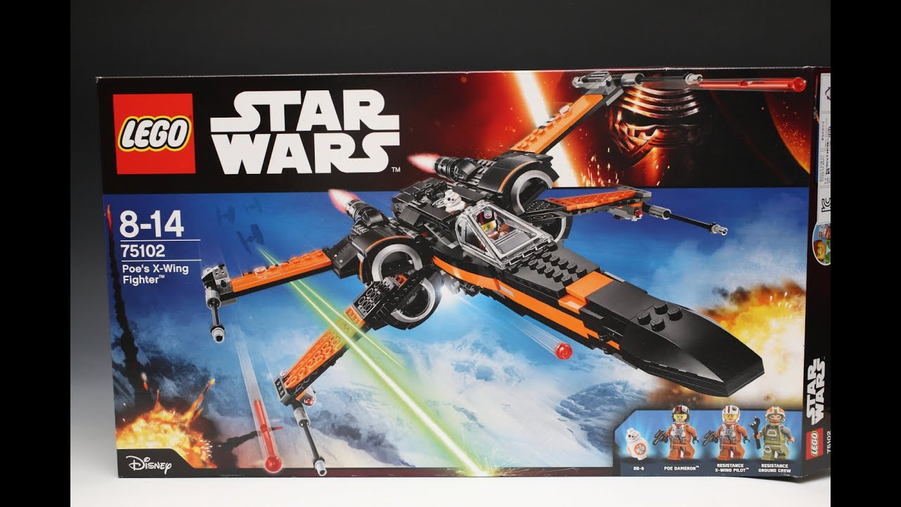 Lego 75102 Poes X Wing Fighter Review Star Wars Poeamp039s